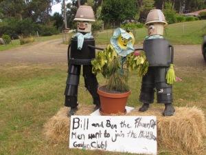 Bill & Ben the Flowerpot men.